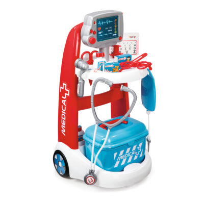 Smoby - Doctor Playset Trolley with Accessories and Sounds