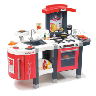 Smoby - Tefal Super Chef Deluxe Play Kitchen with 47 Accessories