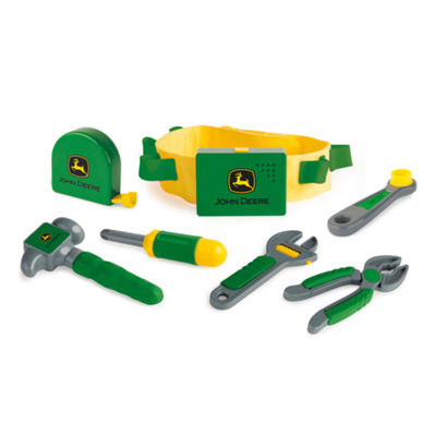 TOMY - John Deere Deluxe Talking Tool Belt Set