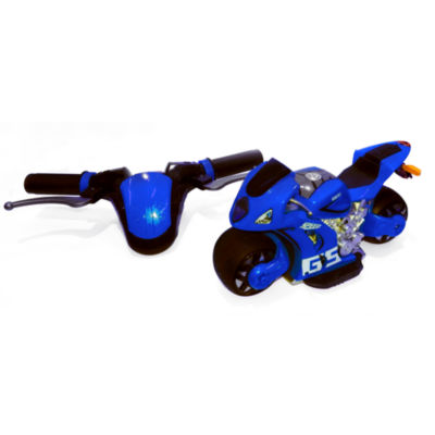 Playtek - 1:8 Scale Motion Steering Remote Control Motorcycle