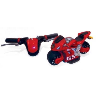 Playtek - 1:8 Scale Motion Steering Remote Control Motorcycle