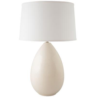 RiverCeramic Egg Table Lamp