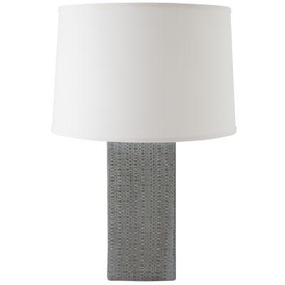 RiverCeramic Linen Textured Table Lamp