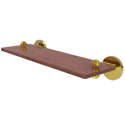Allied Brass South Beach Collection 16 IN Solid Ipe Ironwood Shelf
