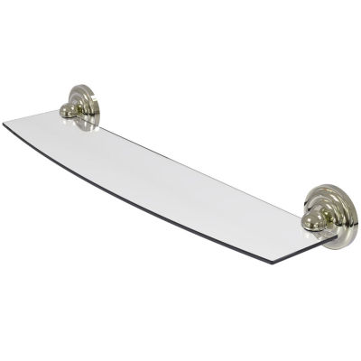 Allied Brass Prestige Que New Collection 24 IN Glass Shelf