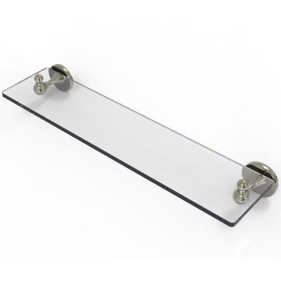 Allied Brass Shadwell Collection 22 IN Glass Vanity Shelf With Beveled Edges