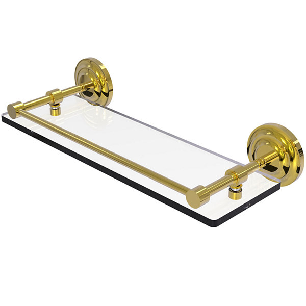 Allied Brass Washington Square Collection 18 InchDouble Towel Bar