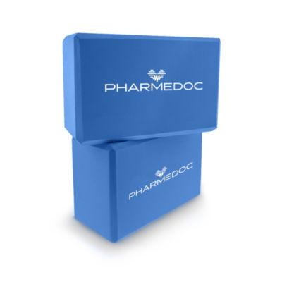 PharMeDoc Yoga Block 2-Pack