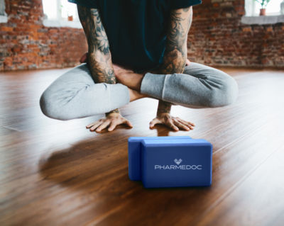 PharMeDoc Yoga Block 2-pack