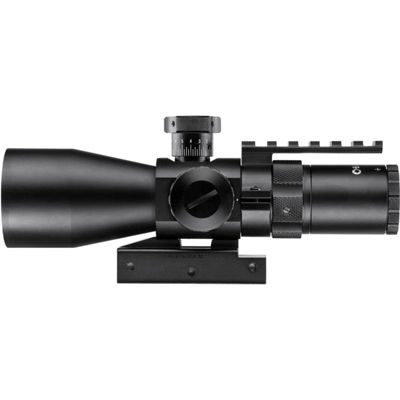 Barska 3-9x42mm IR Contour Rifle Scope w/ Accessory Rail Mount
