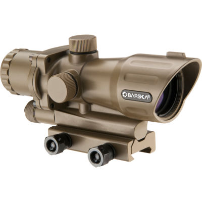 Barska 4x32mm IR AR-15/M-16 Electro Sight Tan (FDE)