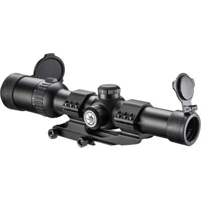 Barska 1-6X24 Ir;Ar6 Tactical Riflescope;30Mm Tube;Red/Green Illuminated Reticle Ac12390