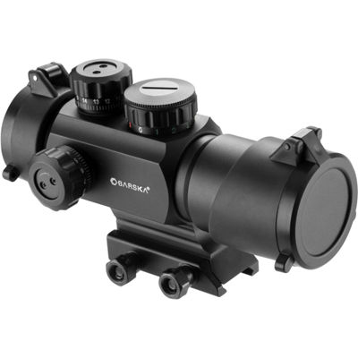 Barska 1x35mm IR AR-X Green / Red Multi Reticle Rifle Scope