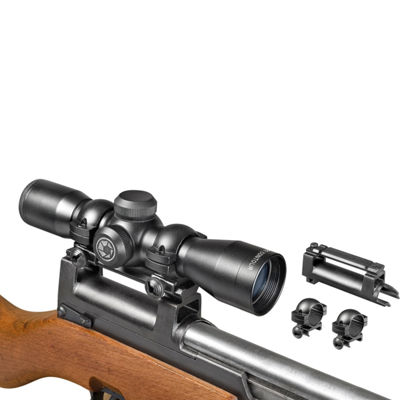 Barska 4x32mm Contour SKS Rifle Scope w/ Base andRings
