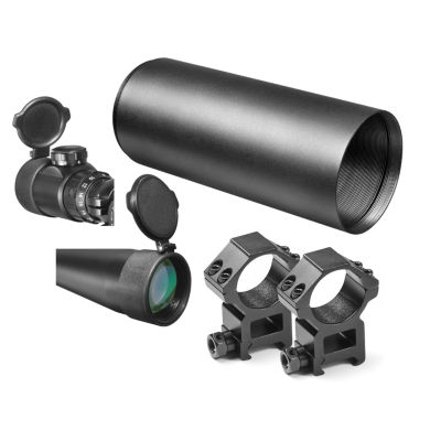 Barska Swat 8-32X44 Ir Tactical Riflescope W/ Mil-Dot Illuminated Reticle; Sunshade & Rings