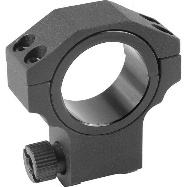 Barska Riflescope Rings - 30Mm W/ 1In Insert; HighHeight; Matte Black; Ruger Style - Ai11061
