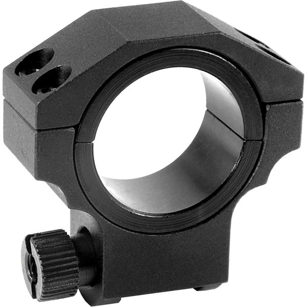 Barska Riflescope Rings - 30Mm W/ 1In Insert; LowHeight; Matte Black; Ruger Style - Ai11059