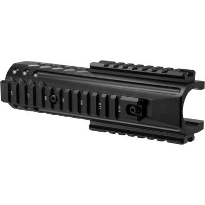 Barska Remington 870 Handguard W/Rails; Black Aw11996