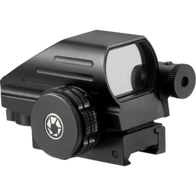 Barska 1x Multi Reticle Electro Sight with 5mW RedLaser Sight