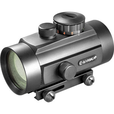 Barska 40Mm Red Dot Scope W/ Dual Color Reticle &Dual Size Mounts - Ac10650