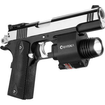 Barska Green Laser / Weapon Light Combo; 200 Lumens; 2Nd Gen Mount; Black Au12716