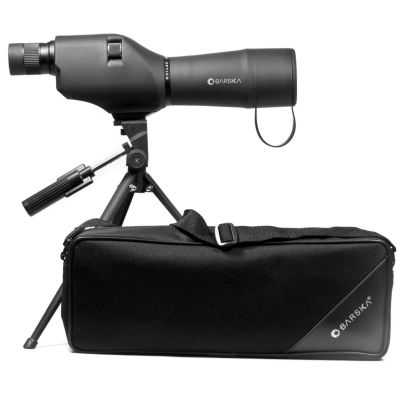 Barska Colorado 20-60X60 Waterproof Straight Spotting Scope; Black; W/ Tripod & Case Co11502