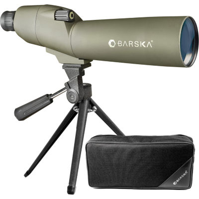 Barska 20-60x60mm WP Colorado Spotting Scope Straight Green