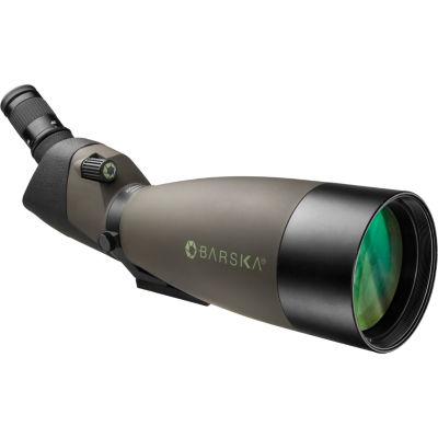 Barska 25-75X100 Angled Blackhawk Spotter W/ HardCase; Green Ad12164