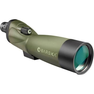 Barska Blackhawk 20-60X70 Waterproof Straight Spotting Scope W/ Tripod; Soft & Hard Cases - Ad10528