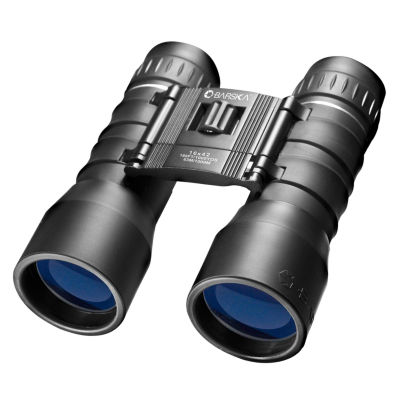 Barska 16X42 Lucid View Binocular Black Compact Blue Lens
