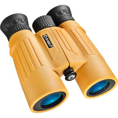 Barska 10X30 Floatmaster Waterproof Blue Lens Roof Prism Binoculars Yellow Ab11092