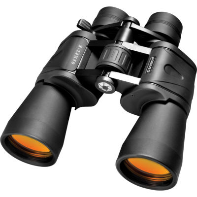 Barska 8-24X50 Gladiator Zoom Ruby Lens Porro Prism Binoculars Black WCase & Strap - Ab11180