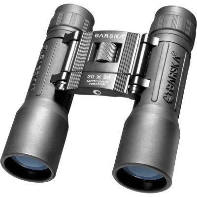 Barska 20X32 Lucid View Compact Roof Bk-7 Prism Binoculars Black Ab10670