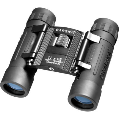 Barska 12x25mm Lucid View Binocular Black
