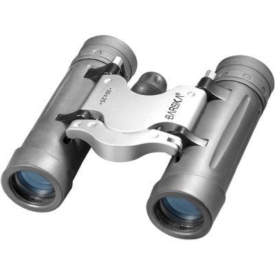 Barska 10X25 Trend Compact Roof Prism Fully Coated Binoculars Gray Ab10126