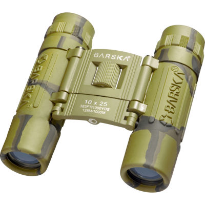Barska 10x25mm Lucid View Binocular Camo
