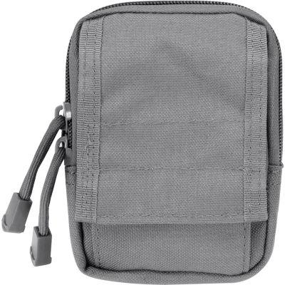 Barska Cx-800 Accessory Pouch, Dual Zipper Design, Compatible W/ Molle System, Gray Bi12634