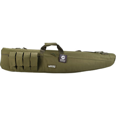 """Loaded Gear RX-100 48"""" Tactical Padded Rifle Bag OD Green"""