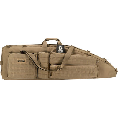 "Barska Optics Tactical Dual Rifle Bag - Rx-600, (46""), Dark Earth"