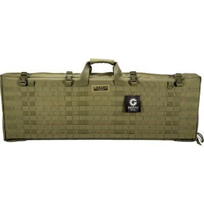"Loaded Gear RX-300 40"" Tactical Rifle Bag w/ MOLLEwebbing OD Green"