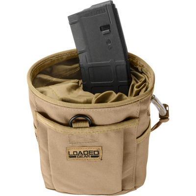 Loaded Gear CX-700 Drawstring Dump Pouch Dark Earth