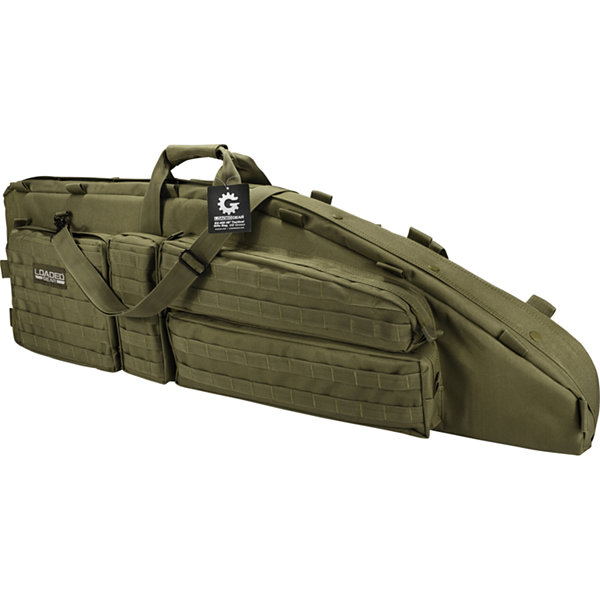 "Barska Optics Tactical Dual Rifle Bag - Rx-600, (46""), Olive Drab Green"