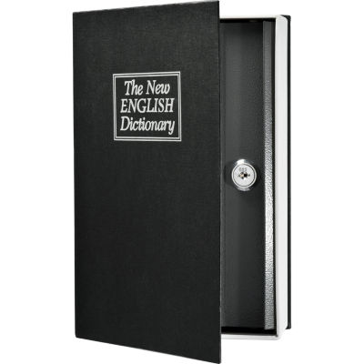 Barska Dictionary Book Lock Box with Key Lock
