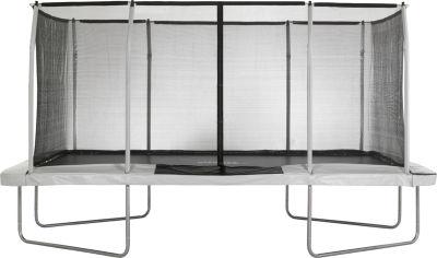 Upper Bounce® Easy Assemble Mega 9' X 15' Trampoline with Fiber Flex Enclosure System