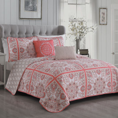 Avondale Manor Della 5PC Quilt Set