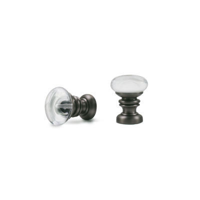 Kirsch Designer Metals - Europa 2-pack Curtain Rod Finials