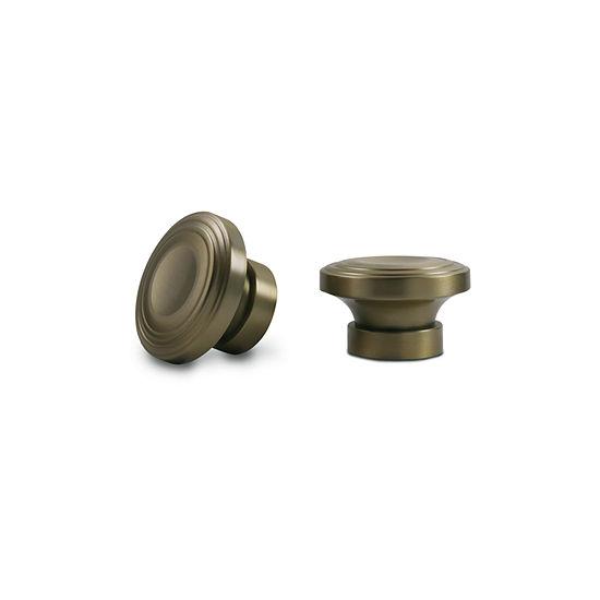 Kirsch Designer Metals - Corsa 2-pc. Finials