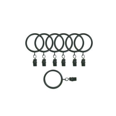 Kirsch Designer Metals 7-pc. Curtain Rings