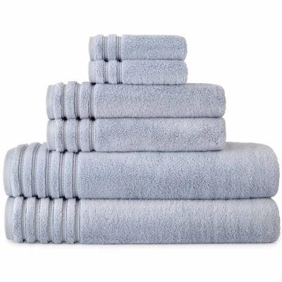 Liz Claiborne Turkish Modal Cotton 6pc Bath Towel Set JCPenney