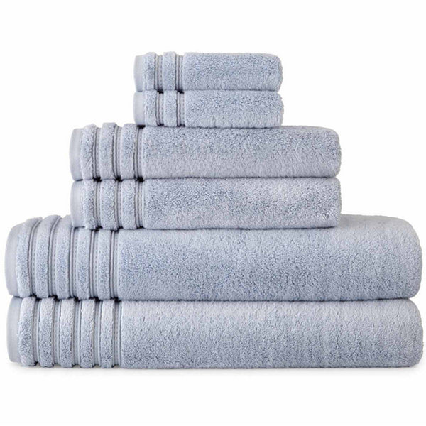 Liz Claiborne Turkish Modal Cotton 6-pc. Bath Towel Set